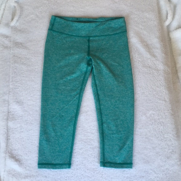 9726d967ccc34d Ivivva Bottoms | Girls Turquoise Cropped Leggings Size 10 | Poshmark